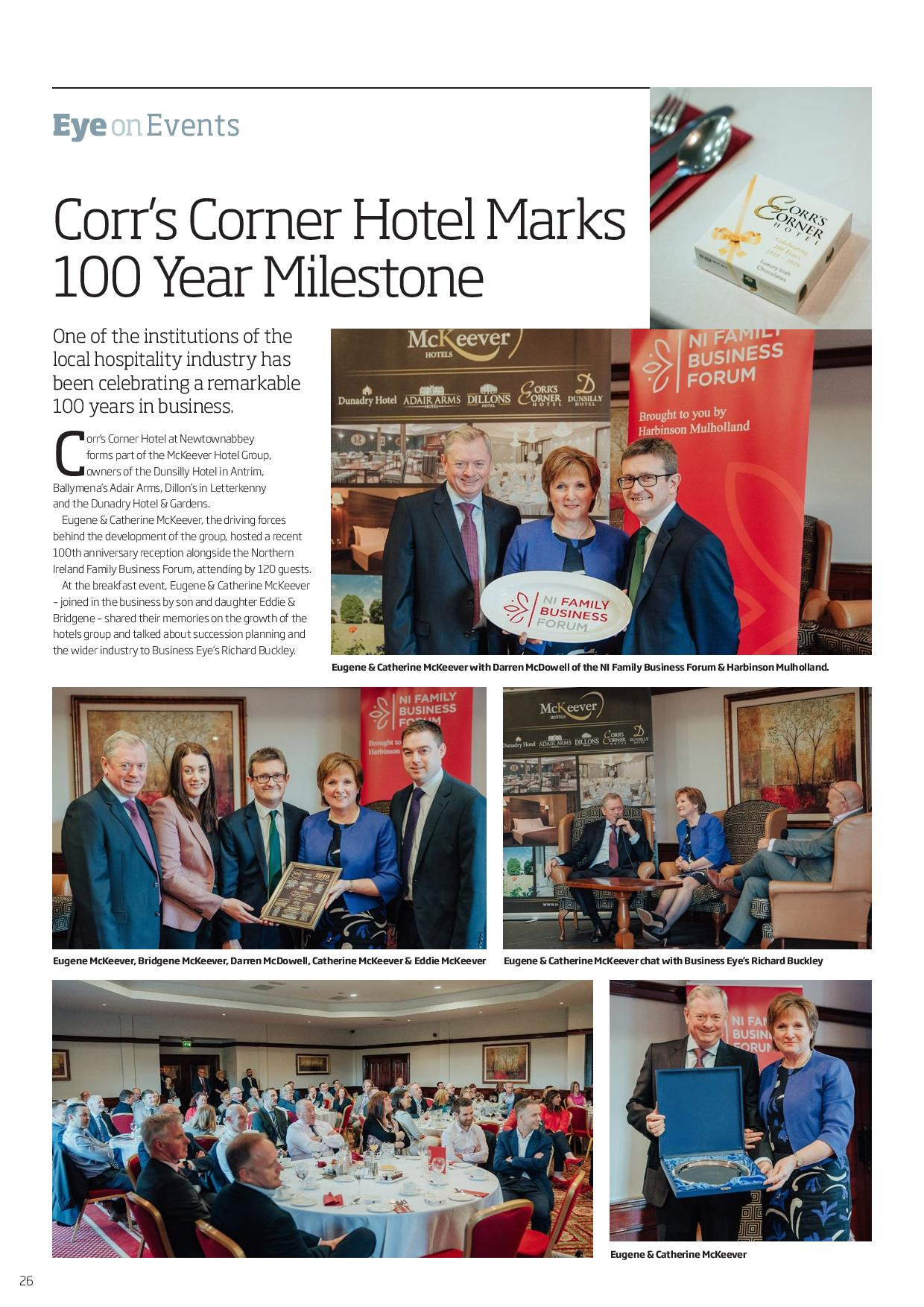120 Business Eye Mag Corrs 100 Years