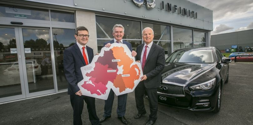 Taking to the Road to Put Northern Ireland's Family Businesses on the Map